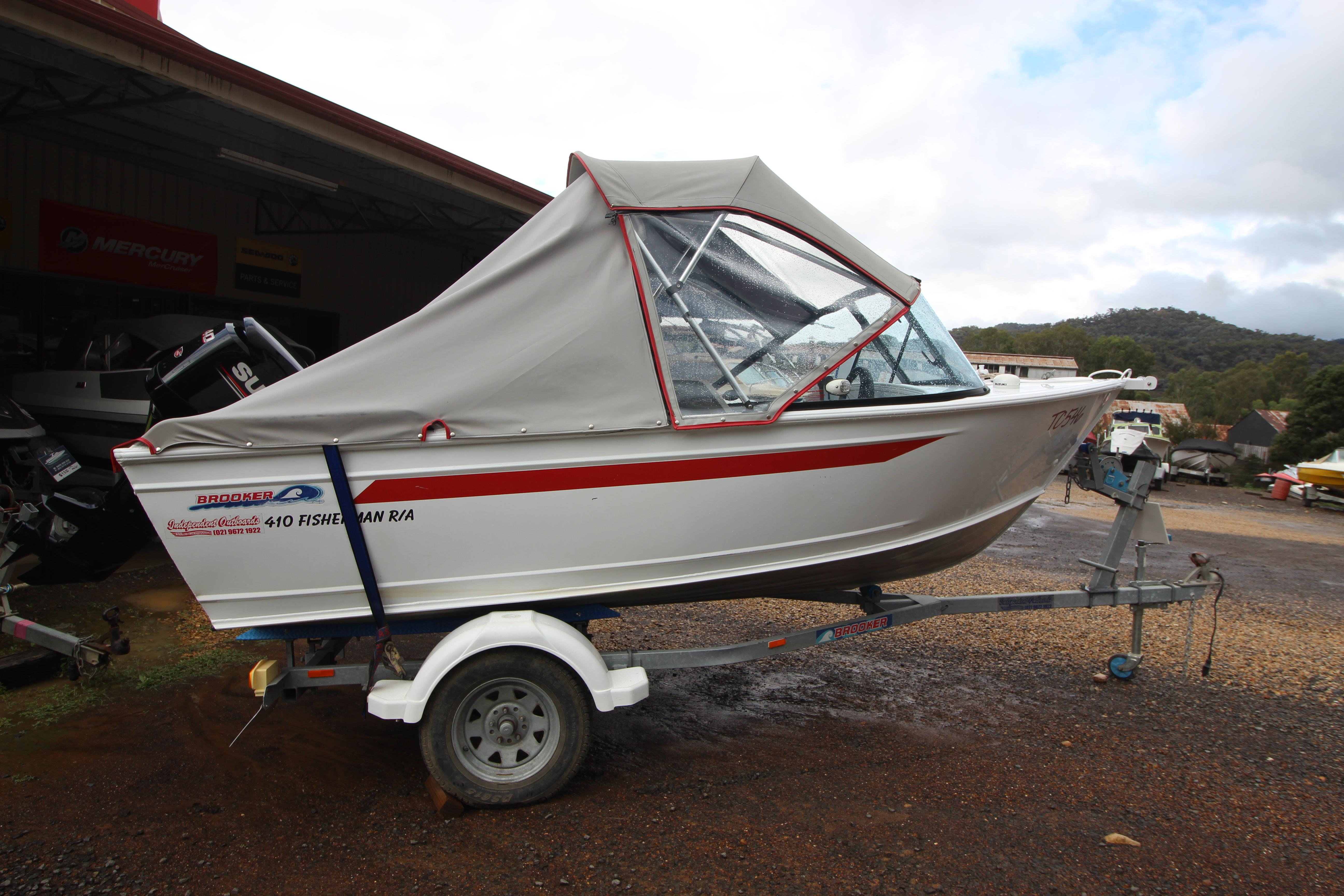 Brooker 410 Fisherman   Price Reduction!