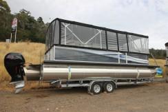 Runaway Bay Pontoon Boat New $95,000
